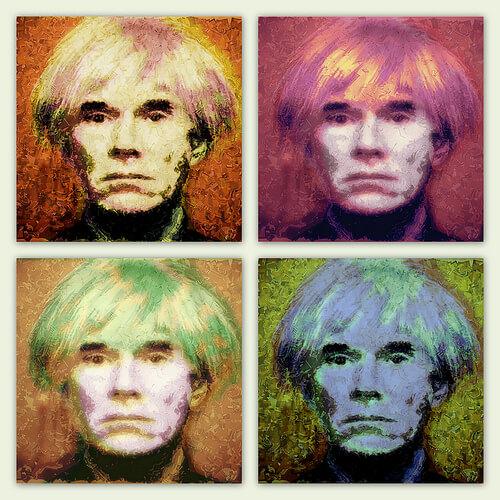 ウォーホル肖像画