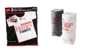 ヘインズパックTシャツ赤とジャパンフィット