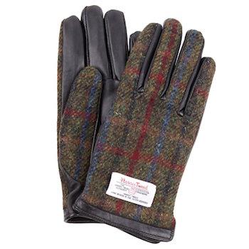 ハリスツイード手袋