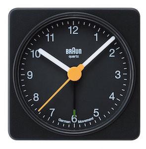 ブラウン目覚まし時計