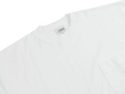 キャンバー白Tシャツ