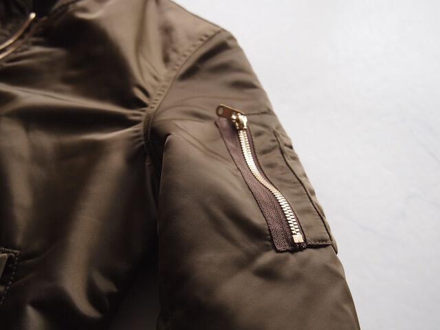 MA-1シガーポケット