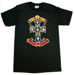 ガンズバンドTシャツ