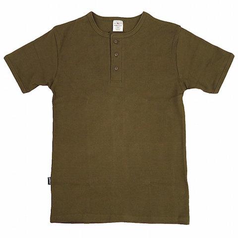 アビレックス・ヘンリーネックTシャツ