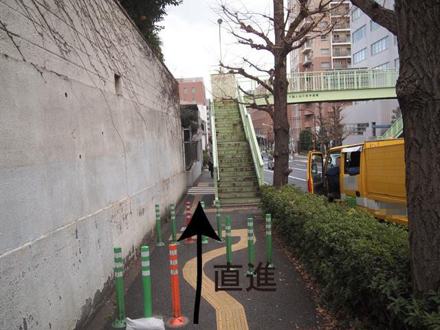 ロンハーマン千駄ヶ谷店行き方6