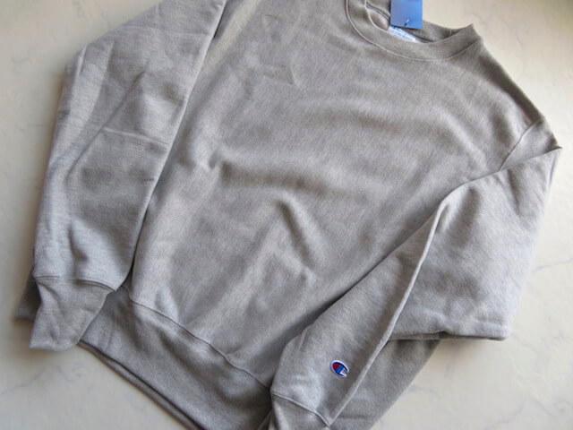 リバースウィーブのスウェットシャツ