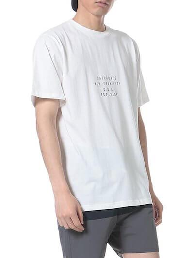 サタデーズサーフニューヨークのTシャツ