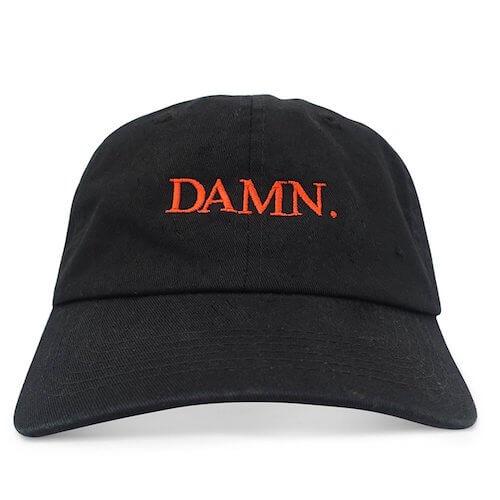 DAMNのキャップ