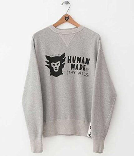 ヒューマンメイドのスウェットシャツ