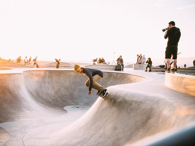 カリフォルニアのスケーター