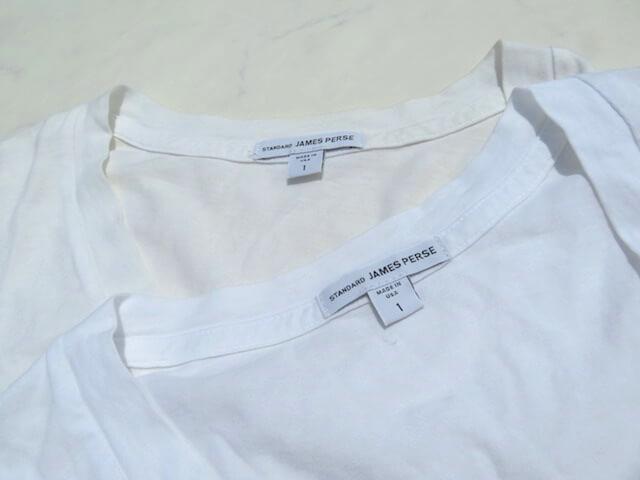 ジェームスパースの無地Tシャツ