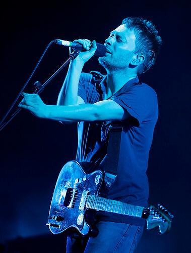 トムヨークのライブ