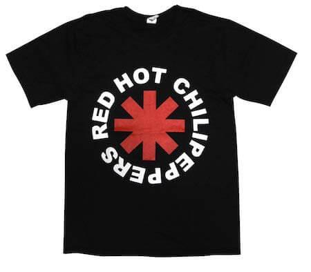 レッチリバンドTシャツ
