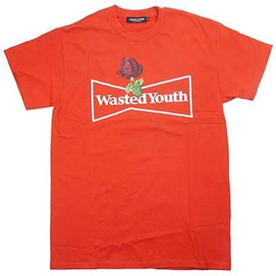 wasted youthとアンダーカバーのTシャツ
