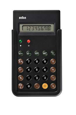 ブラウン電卓