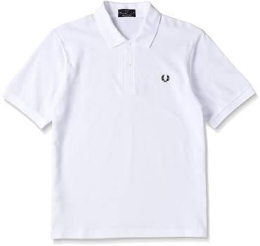 フレッドペリーポロシャツ白