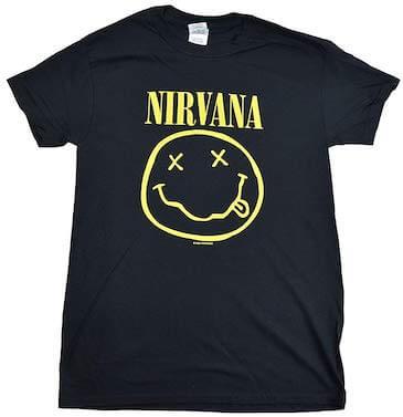 スマイルフェイスTシャツ