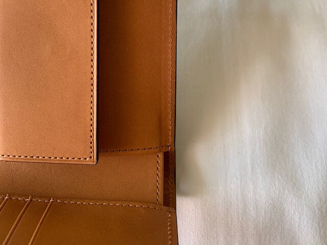 クラフストの財布ディテール