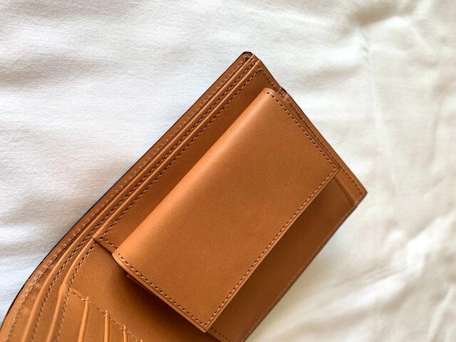 クラフストの財布内側