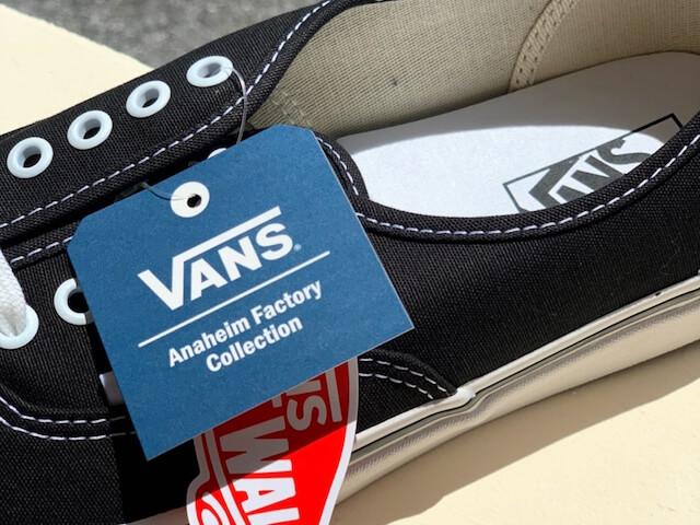 ヴァンズアナハイムファクトリーのブランドロゴ