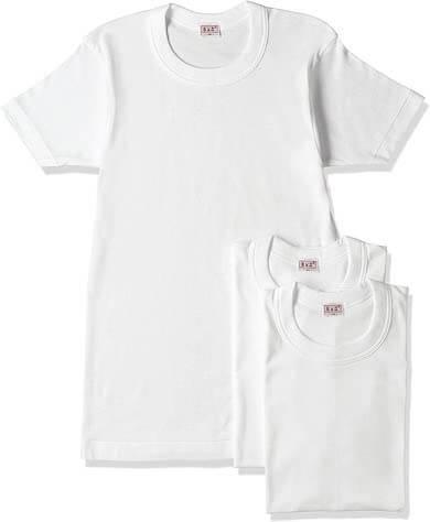 BVDクルーネック白Tシャツ